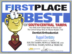 First Place Best of South/Central Tampa